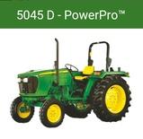 जौन डीयर ट्रैक्टर   5045 D Power pro 46HP