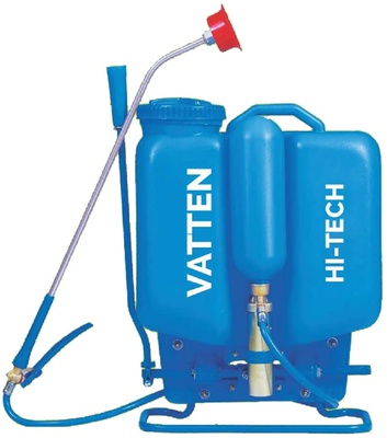 FarmEarth Knapsack Hand Operated Agriculture Garden Hitech Sprayer Blue 16 L