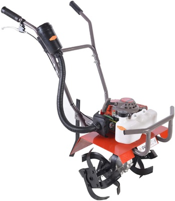 Power Tiller Cultivator Rotary Weeder with 2 Stroke 62 or 63 CC 3 HP Engine for Agriculture & Garden Use